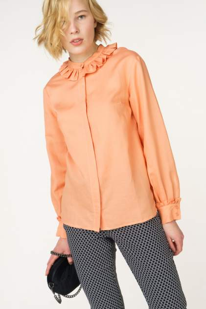 Блуза женская Libellulas 2243 оранжевая 42 RU
