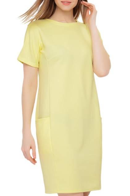 Платье женское Limonti 712113 желтое 40 RU