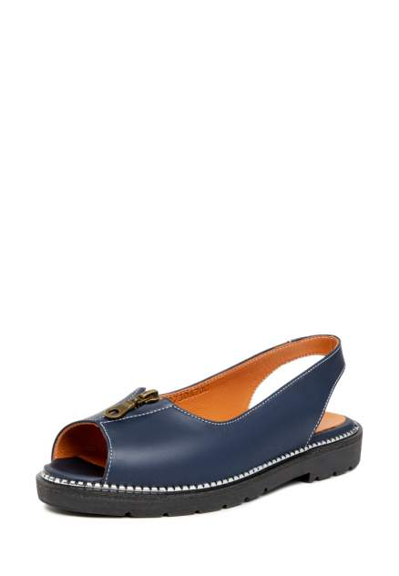 Туфли женские Alessio Nesca 710018262 синие 36 RU