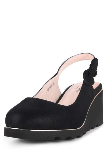Туфли женские Pierre Cardin 710017674 черные 40 RU