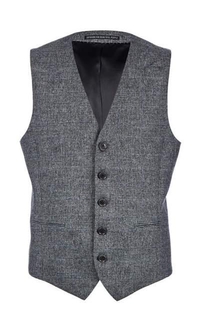 Жилет мужской DRYKORN 43123 113512 2,серый, синий, черный