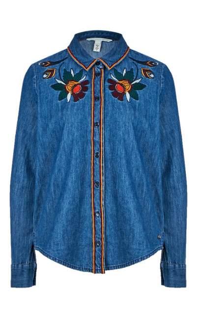 Женская джинсовая рубашка TOM TAILOR 1006010-10281, синий