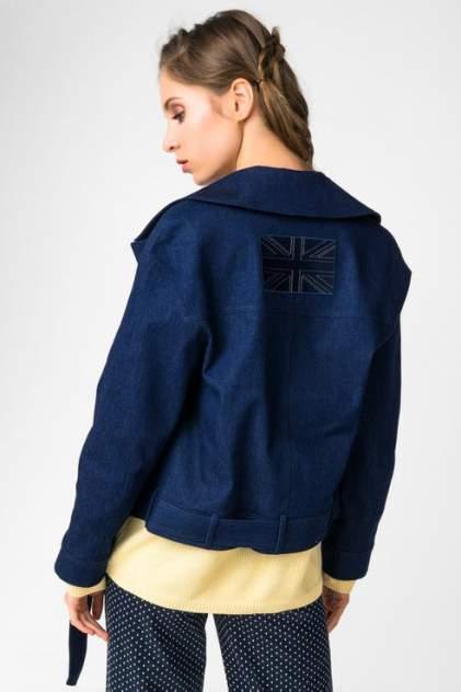 Джинсовая куртка женская Audrey right 180126-9816 синий M