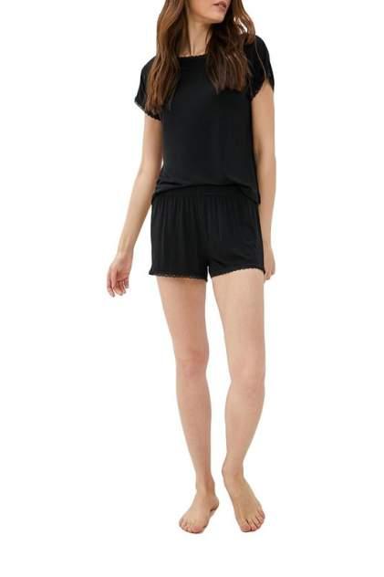 Пижама женская Luisa Moretti 6024 черная XL