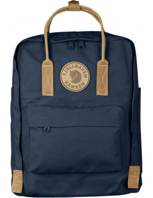 Рюкзак кожаный FjallRaven Kanken No.2 синий/бежевый 16 л