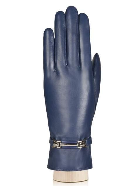 Перчатки женские Labbra LB-0306 синие 7.5