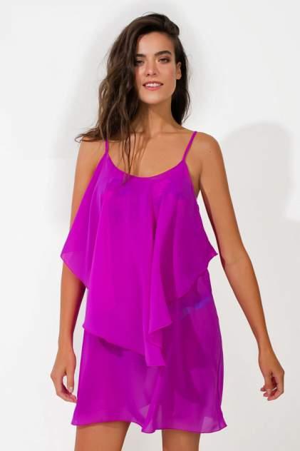 Пляжная туника женская Laete 60237-4 фиолетовая L