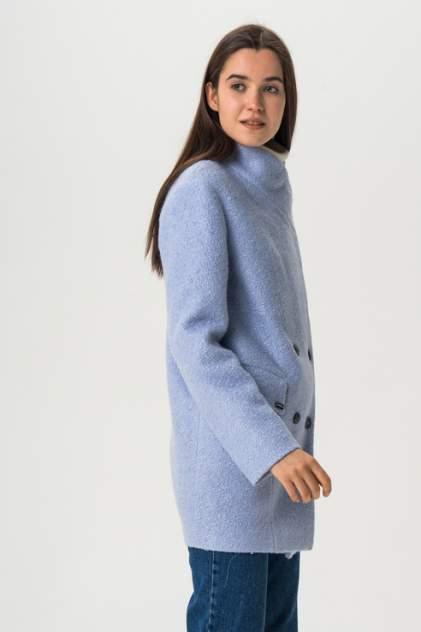 Пальто женское ElectraStyle 3-7004/4-225 голубое 42 RU