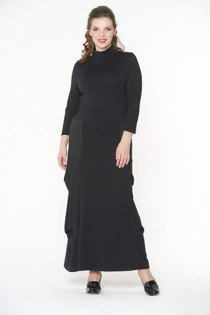 Платье женское VAY 181-3423 черное 42 RU