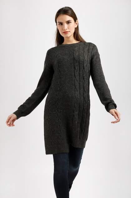 Женское платье Finn Flare W19-32123, черный