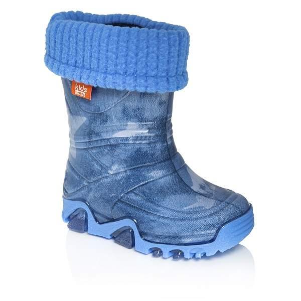 Резиновые сапоги детские Demar, цв.синий р.32
