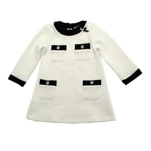 Платье детское Bon&Bon, цв.белый