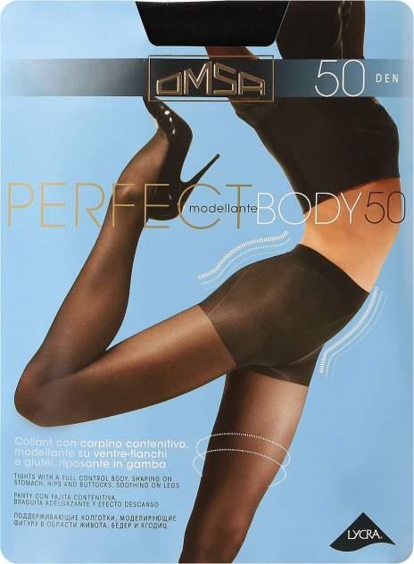 Колготки Omsa PERFECT BODY 50 /  Nero  (Черный) / 5 (XL)