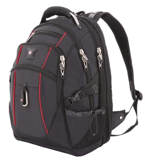 Рюкзак SwissGear Scansmart III SA 6677202408 черный/красный 38 л