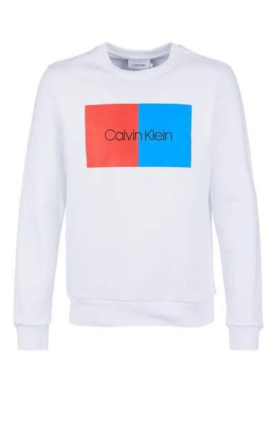 Толстовка мужская Calvin Klein K10K103498 105 perfect white, белый