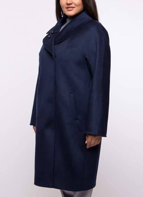 Пальто женское Каляев К-19-64/1 синее 52 RU