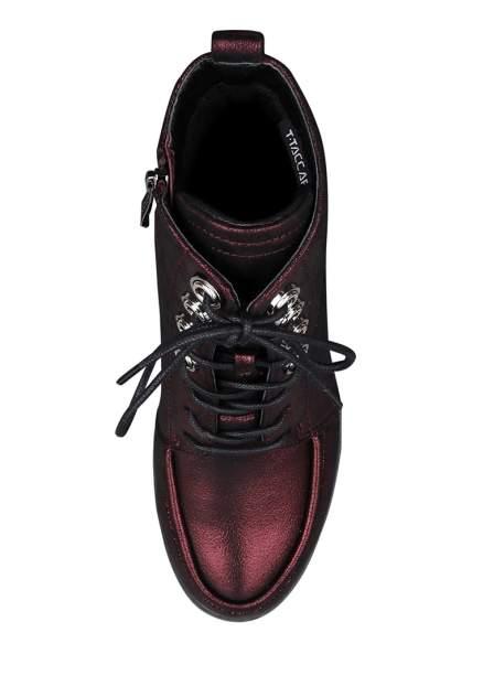 Ботинки женские T.Taccardi 710018565 красные 36 RU