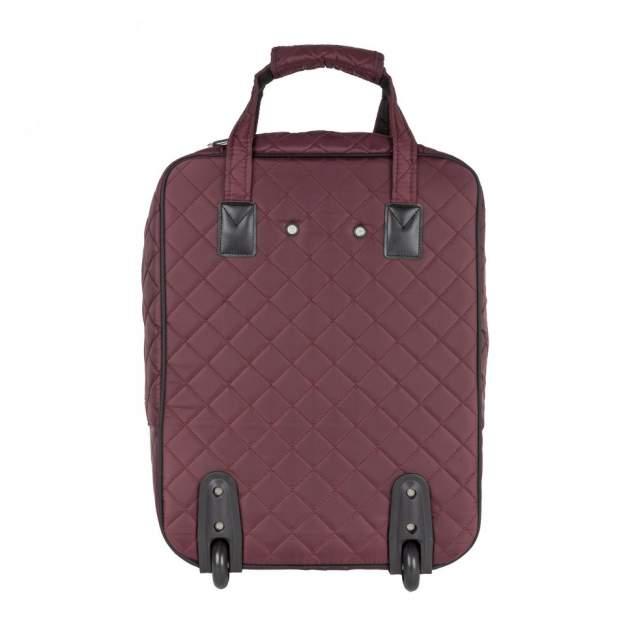 Дорожная сумка Polar П7095 бордовая 39 x 53 x 20