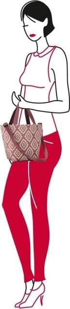 Сумка Shopper XS diamonds rouge