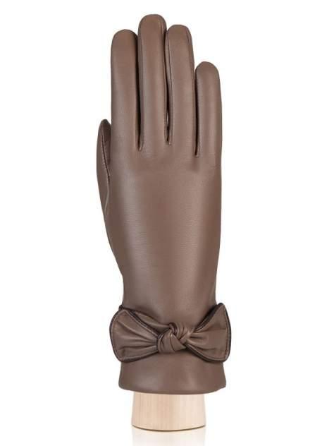 Перчатки женские Labbra LB-0310 коричневые 7.5