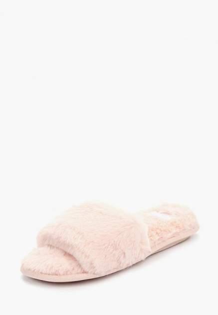 Домашние тапочки женские Halluci Мех розовые 38-39 RU