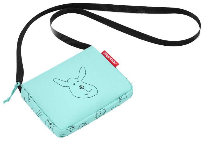 Сумка детская Reisenthel Itbag cats and dogs mint для девочек Голубой JA4062