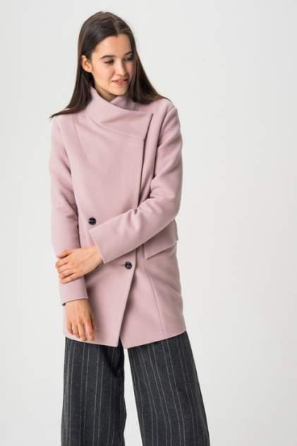 Пальто женское ElectraStyle 3-7004/4-128 розовое 46 RU