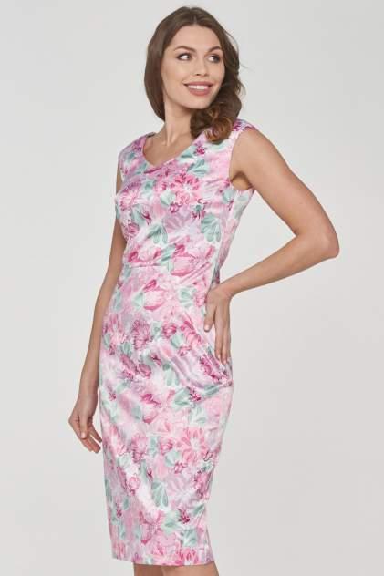 Платье женское VAY 191-3500 розовое 54 RU