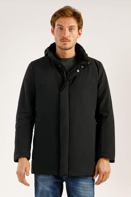 Пальто мужское Finn Flare A19-21034 черное XL
