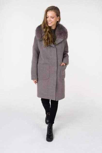 Пальто женское ElectraStyle НП4У-8023-128 серое 48 RU