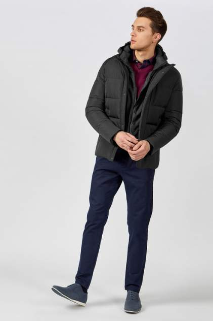 Куртка мужская Tom Farr T4F M3075.58 черная S