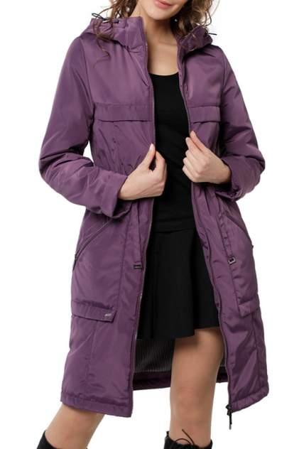 Тренч женский DizzyWay 20109 фиолетовый 58 RU