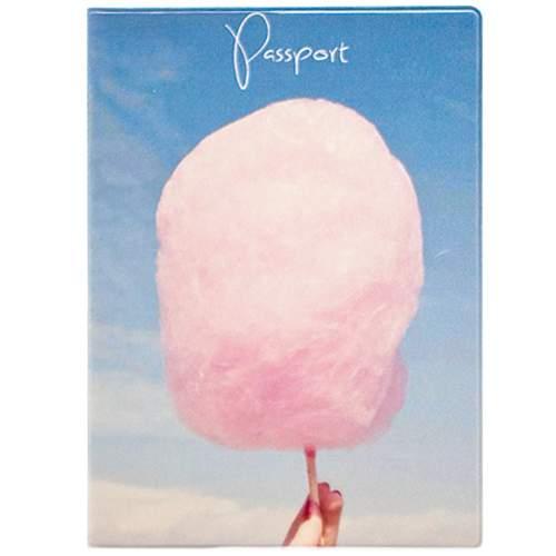 """Обложка для паспорта """"Cotton candy"""""""