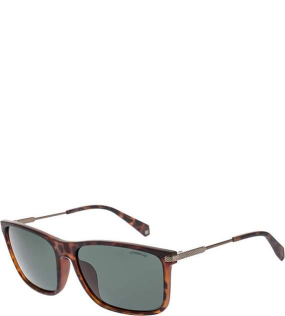 Солнцезащитные очки мужские Polaroid PLD 2063/F/S N9P, коричневый