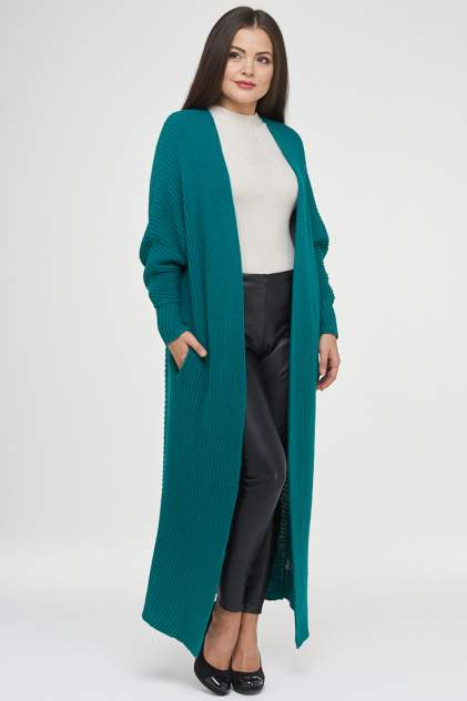 Жакет женский VAY 182-1575 зеленый 50 RU