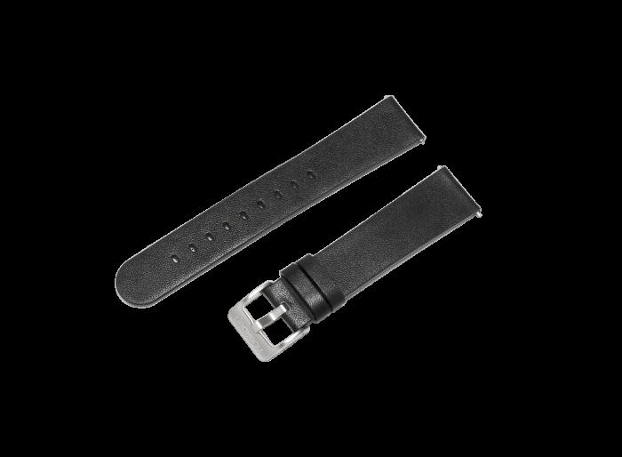 Ремешок для часов Noerden PAB-0107 черный 20 мм