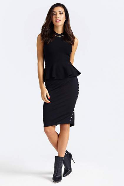Блуза женская Guess W93R89Z2FY0JBLK черная L