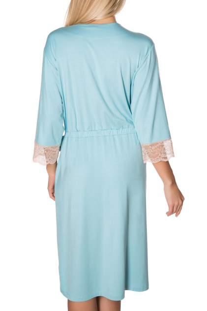 Халат домашний женский Rose&Petal Homewear 1027 голубой L