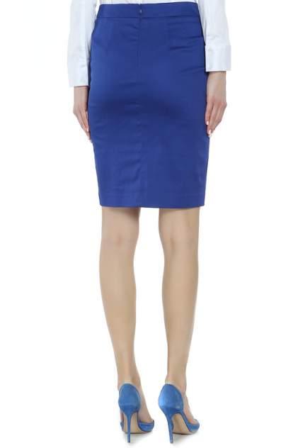 Юбка женская YARMINA UB6420-0458 синяя 56 RU