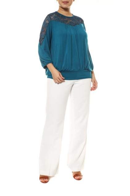 Блуза женская ARTESSA BL07139GRN12 синяя 52 RU/54 RU