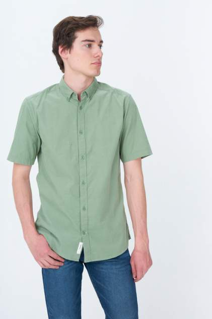Рубашка мужская ONLY & SONS 22019168, зеленый