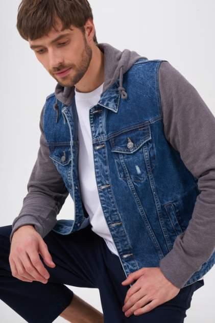 Джинсовая куртка мужская ONLY & SONS 22019973 синяя 50 RU