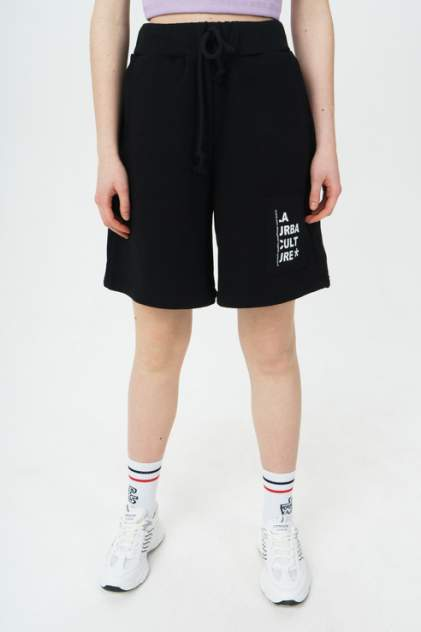 Спортивные шорты женские LA URBA PERSON VAN-074 черные 46-48 RU