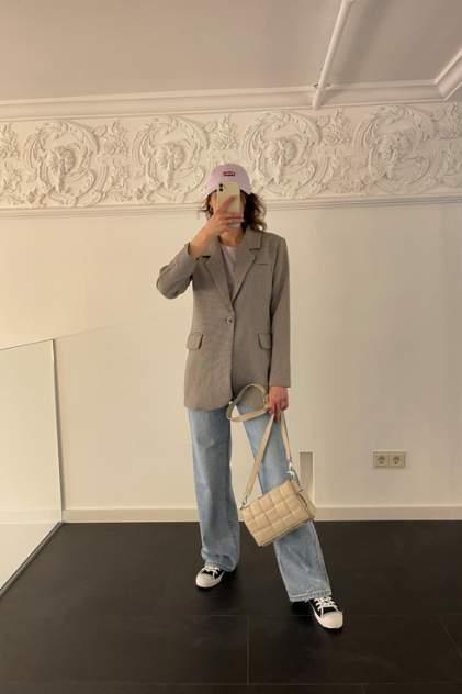 Пиджак женский ELARDIS El_W10980 коричневый 42 RU