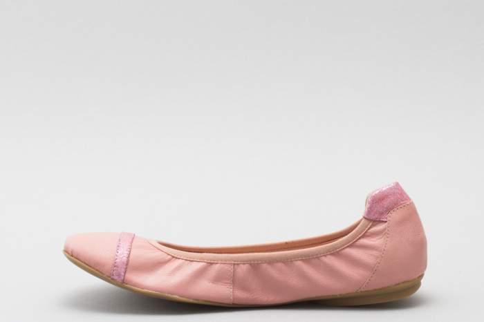 Балетки женские Caprice 9-9-22114-26-508 розовые 38 RU