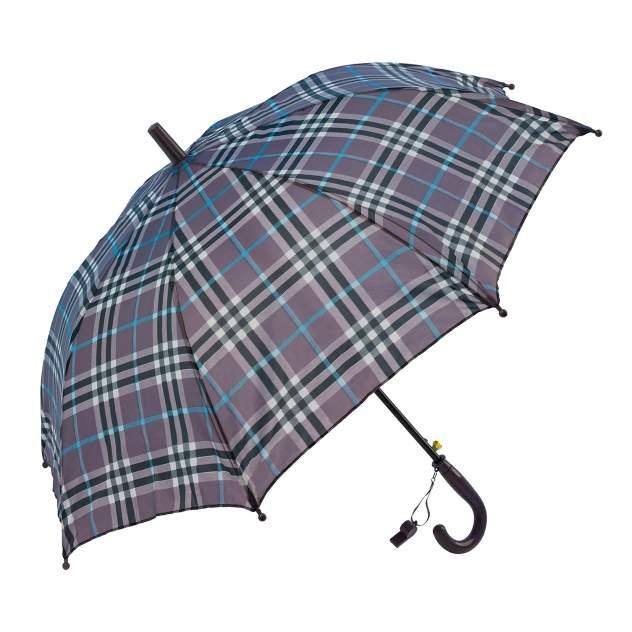 Зонт детский Diniya для мальчиков и девочек Клетка фиолетовая