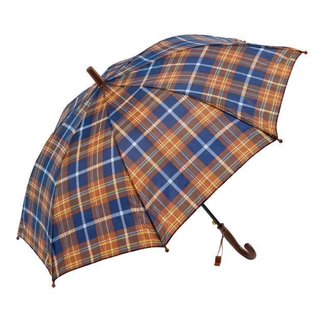 Зонт детский Diniya для мальчиков и девочек Клетка коричневая