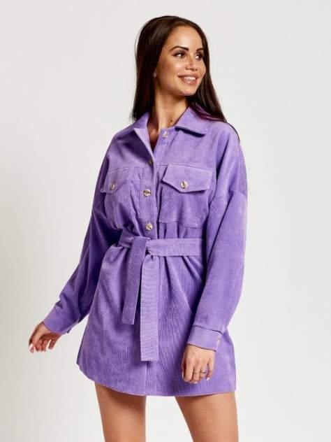 Рубашка женская DAZZLE STYLE Меган фиолетовая 44