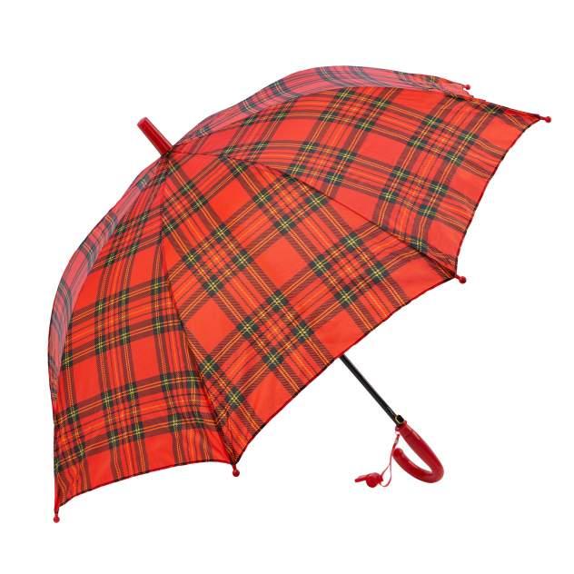 Зонт детский Diniya для мальчиков и девочек Клеткакрасная
