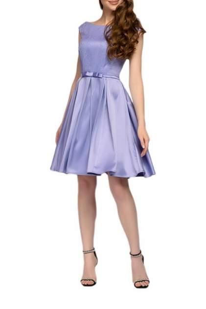 Вечернее платье женское D&M by 1001DRESS 0112001-01942LV фиолетовое L